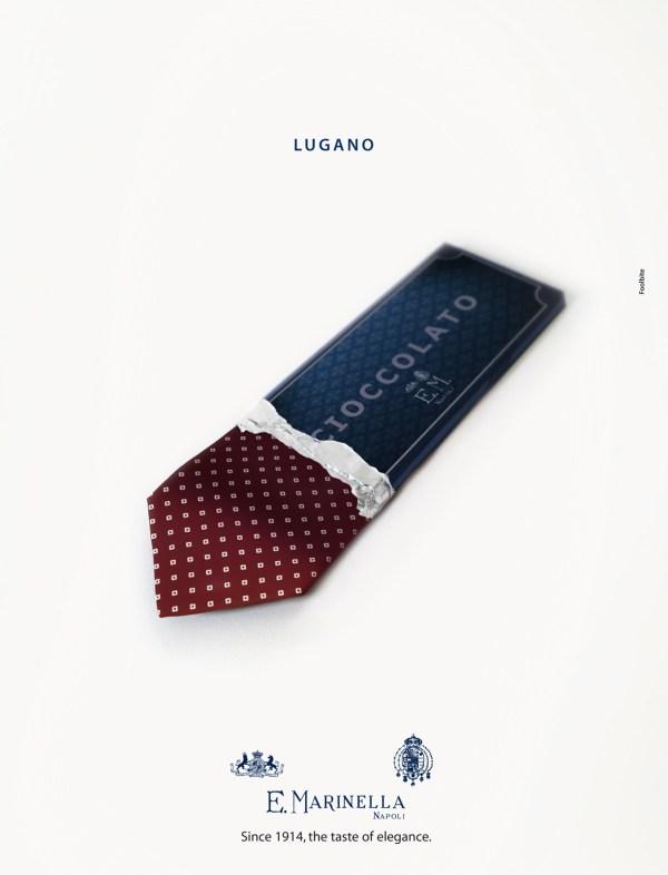 реклама галстуков Marinella Ties