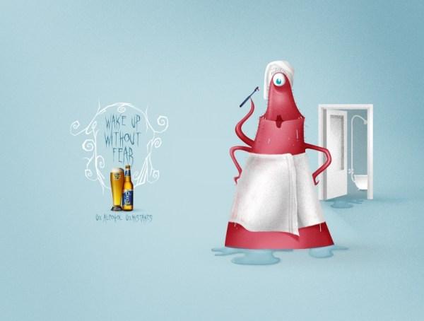 реклама безалкогольного пива Cristal