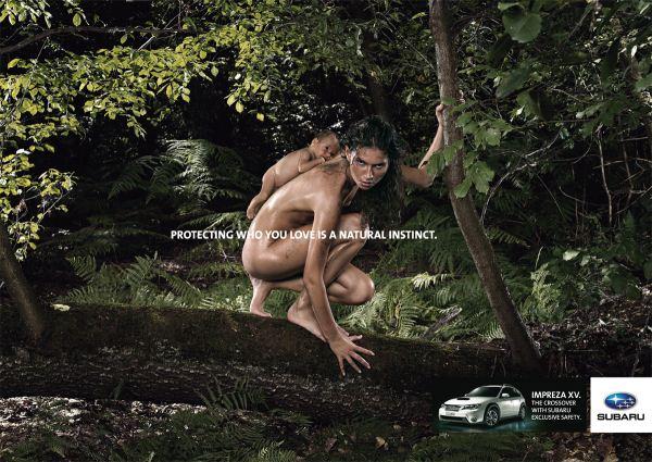 """Печатная кампания для Subaru Impreza """"Women"""""""