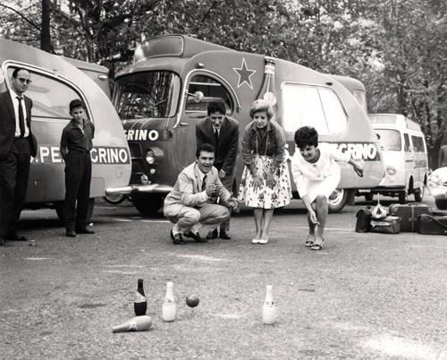Лимитированная серия S.Pellegrino с кадрами из культового фильма.