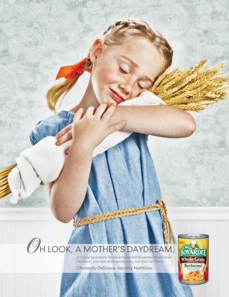Chef Boyardee: Wheat Girl