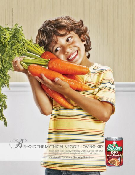 Chef Boyardee: Carrot Kid