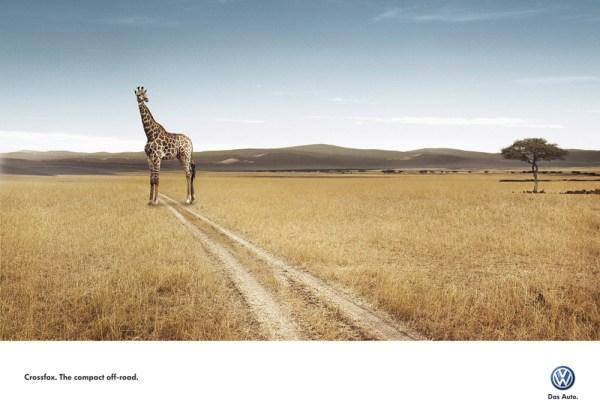 А ваш внедорожник проедет под жирафом?