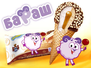 "мороженое ""Смешарики"""